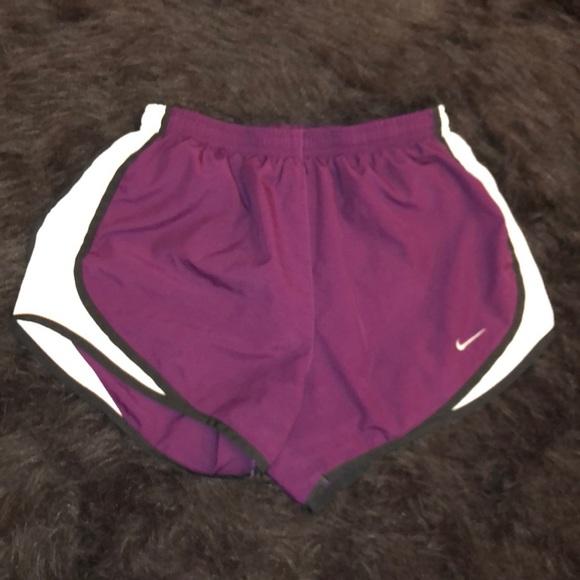 Nike Pants - Magenta Nike Tempo shorts (XS)
